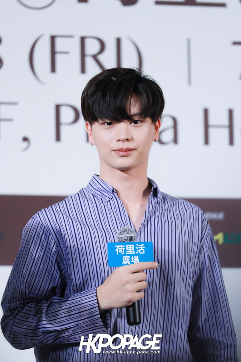 "[HK.KPOP.PAGE] 180518_Yook Sung Jae""Paradise""Fan Meeting in Hong Kong Press Conference_06"