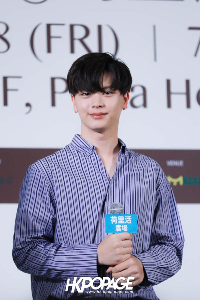 "[HK.KPOP.PAGE] 180518_Yook Sung Jae""Paradise""Fan Meeting in Hong Kong Press Conference_08"
