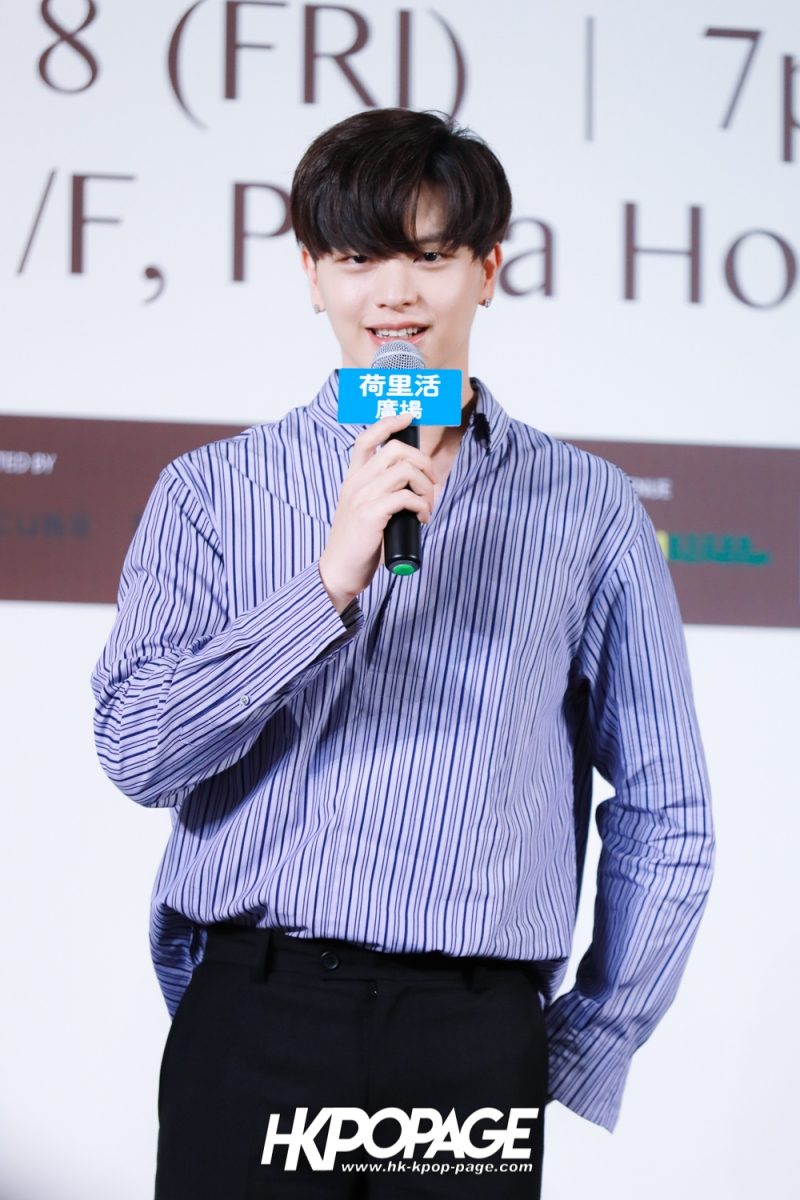 "[HK.KPOP.PAGE] 180518_Yook Sung Jae""Paradise""Fan Meeting in Hong Kong Press Conference_10"