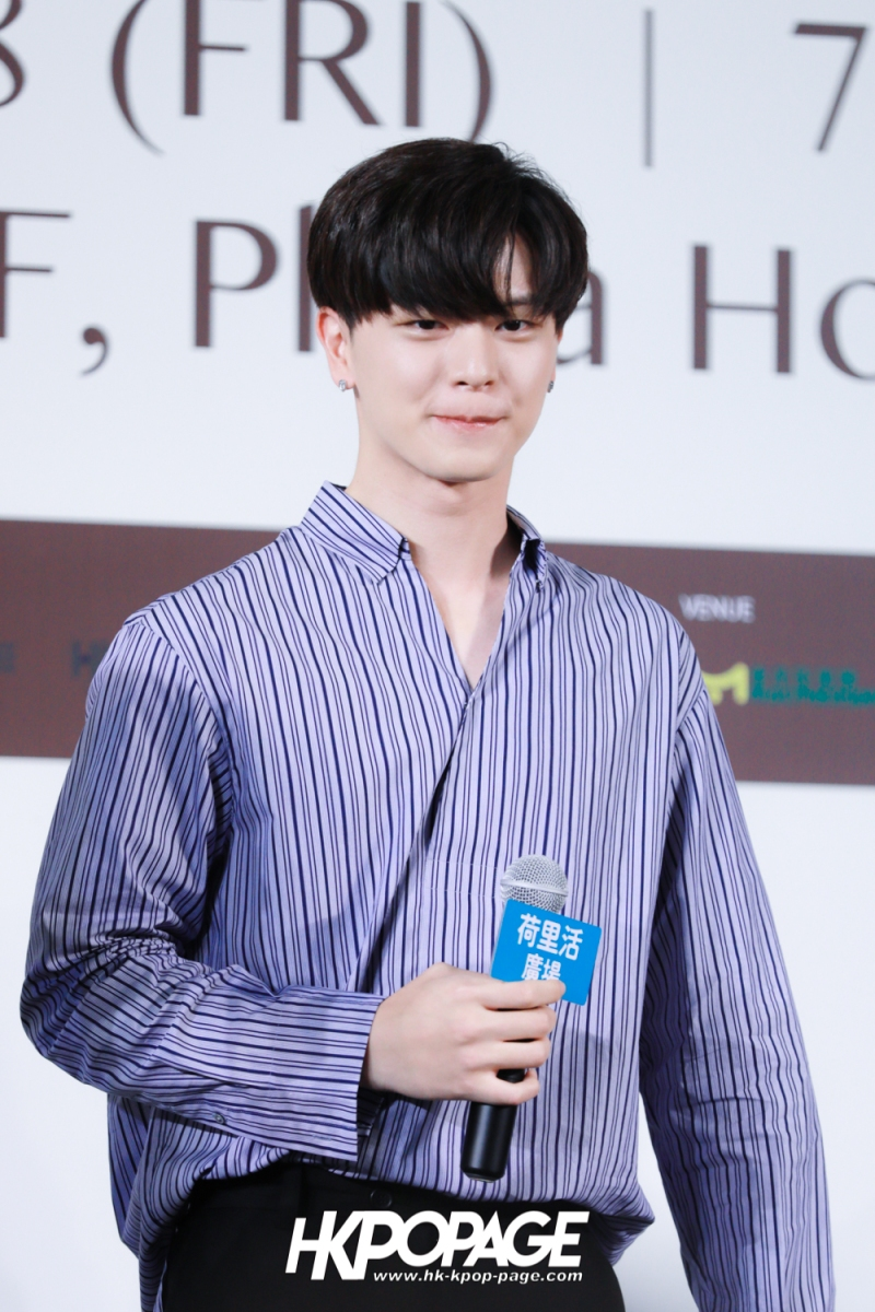 "[HK.KPOP.PAGE] 180518_Yook Sung Jae""Paradise""Fan Meeting in Hong Kong Press Conference_14"