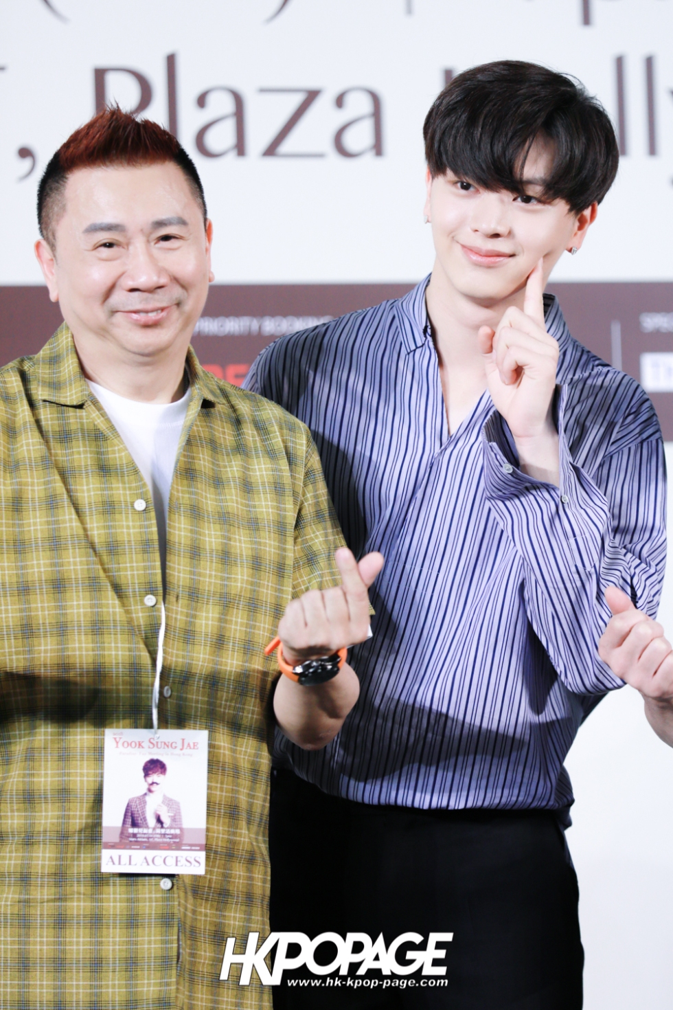 "[HK.KPOP.PAGE] 180518_Yook Sung Jae""Paradise""Fan Meeting in Hong Kong Press Conference_22"