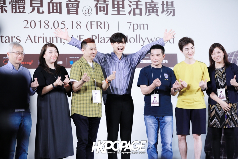 "[HK.KPOP.PAGE] 180518_Yook Sung Jae""Paradise""Fan Meeting in Hong Kong Press Conference_23"