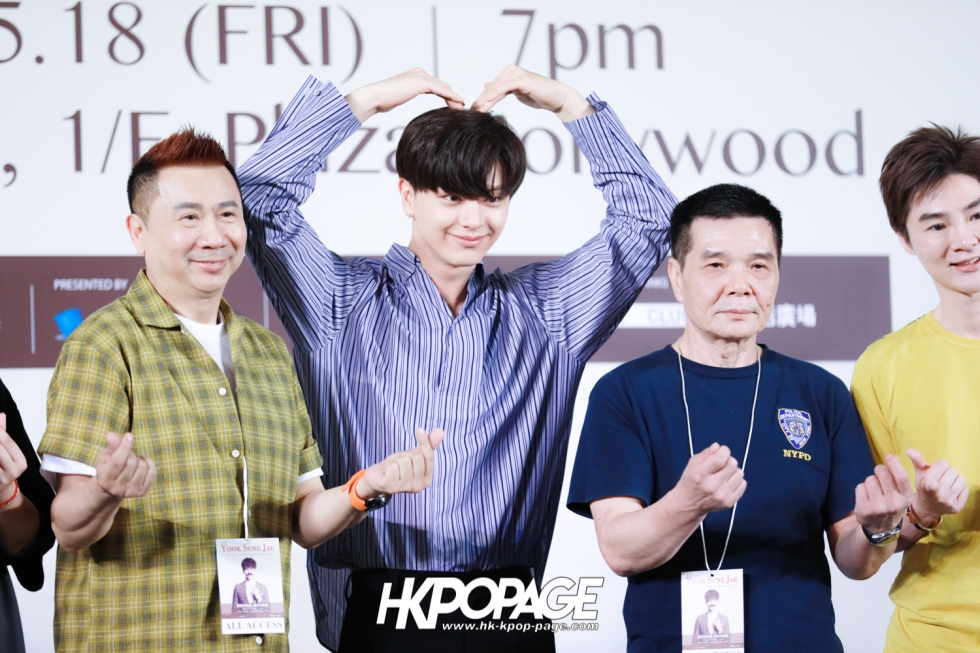 "[HK.KPOP.PAGE] 180518_Yook Sung Jae""Paradise""Fan Meeting in Hong Kong Press Conference_24"