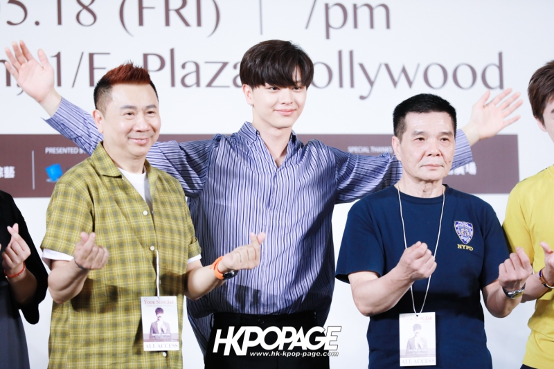 "[HK.KPOP.PAGE] 180518_Yook Sung Jae""Paradise""Fan Meeting in Hong Kong Press Conference_25"