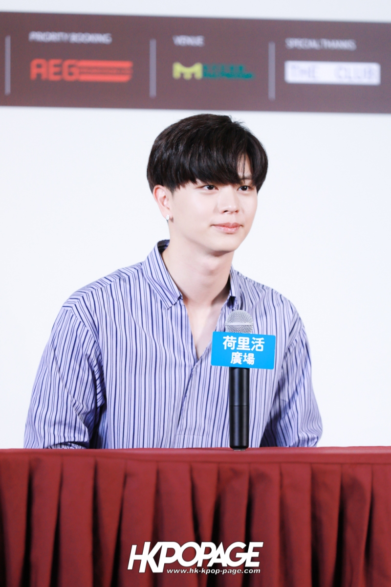 "[HK.KPOP.PAGE] 180518_Yook Sung Jae""Paradise""Fan Meeting in Hong Kong Press Conference_26"