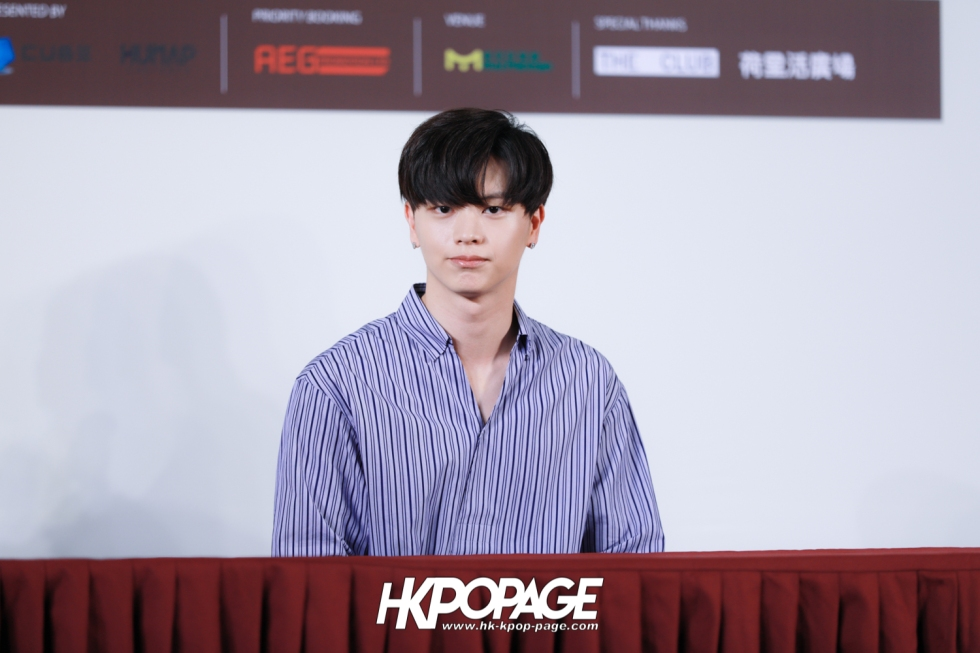 "[HK.KPOP.PAGE] 180518_Yook Sung Jae""Paradise""Fan Meeting in Hong Kong Press Conference_28"