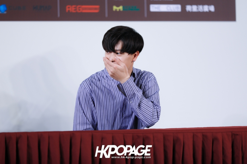 "[HK.KPOP.PAGE] 180518_Yook Sung Jae""Paradise""Fan Meeting in Hong Kong Press Conference_29"
