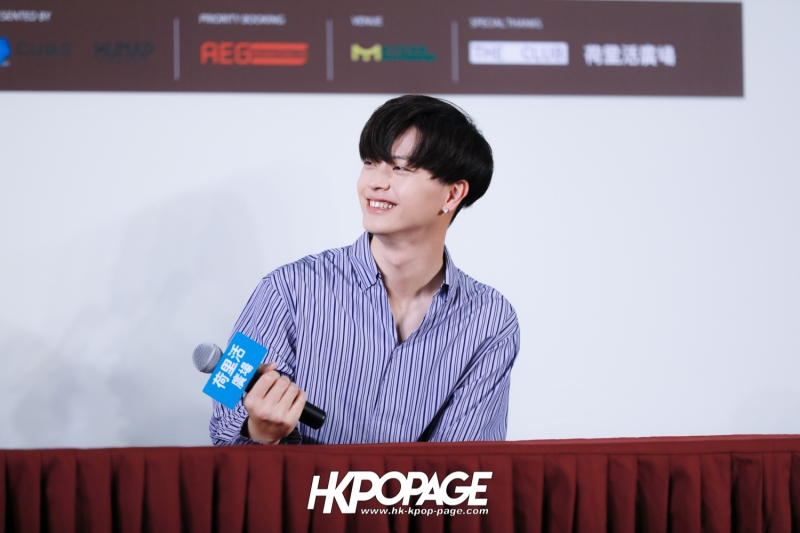"[HK.KPOP.PAGE] 180518_Yook Sung Jae""Paradise""Fan Meeting in Hong Kong Press Conference_30"