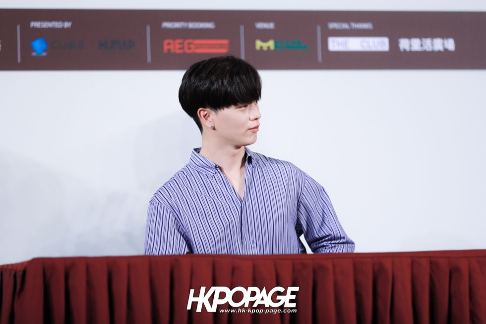 "[HK.KPOP.PAGE] 180518_Yook Sung Jae""Paradise""Fan Meeting in Hong Kong Press Conference_31"