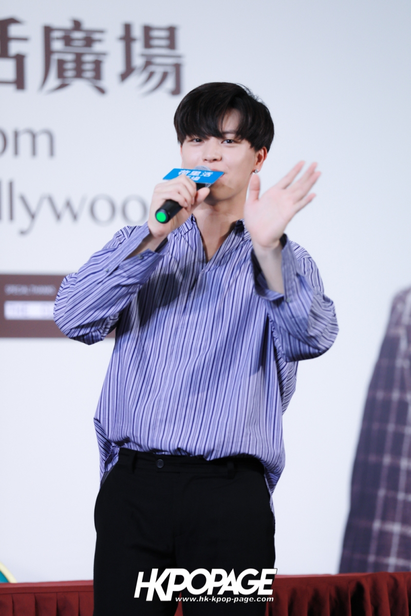 "[HK.KPOP.PAGE] 180518_Yook Sung Jae""Paradise""Fan Meeting in Hong Kong Press Conference_33"