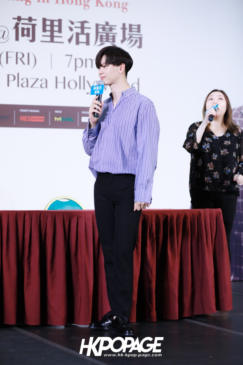 "[HK.KPOP.PAGE] 180518_Yook Sung Jae""Paradise""Fan Meeting in Hong Kong Press Conference_34"