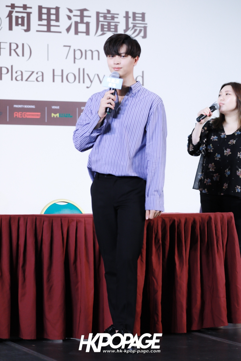 "[HK.KPOP.PAGE] 180518_Yook Sung Jae""Paradise""Fan Meeting in Hong Kong Press Conference_35"