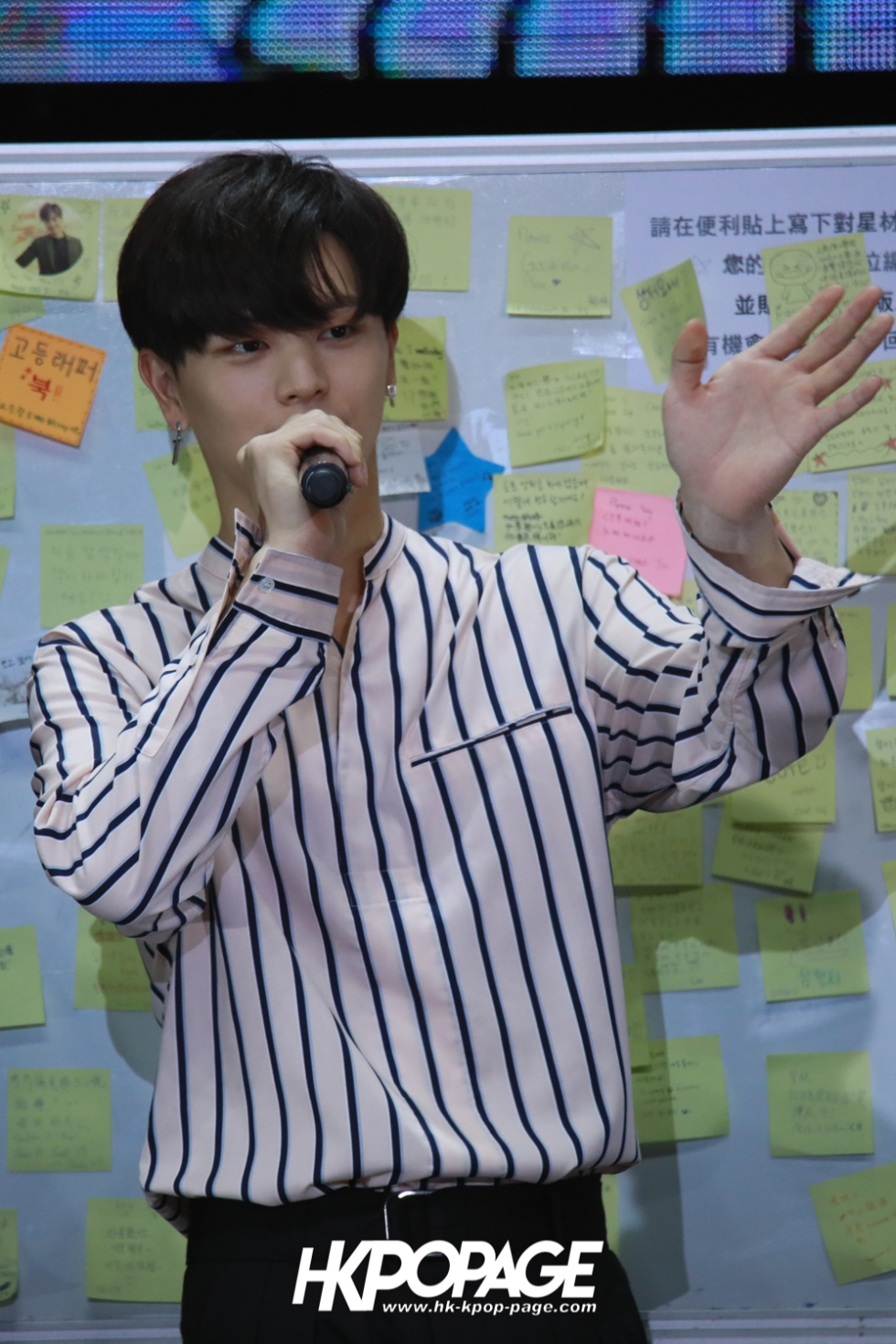 "[HK.KPOP.PAGE] 180519_Yook Sung Jae""Paradise""Fan Meeting in Hong Kong_06"