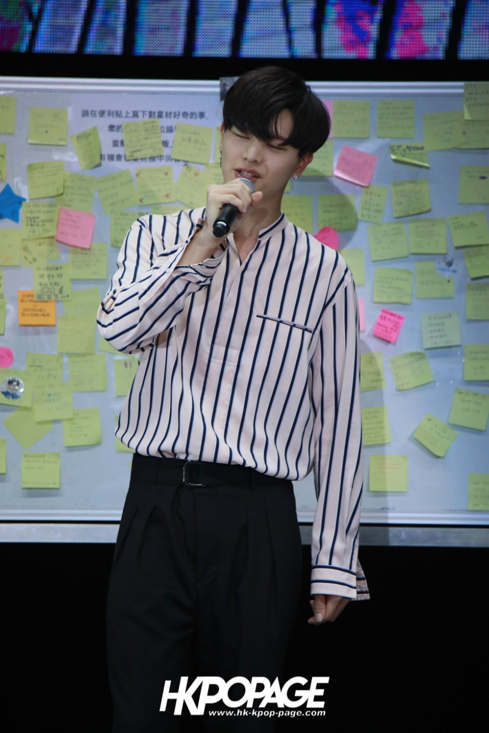 "[HK.KPOP.PAGE] 180519_Yook Sung Jae""Paradise""Fan Meeting in Hong Kong_11"