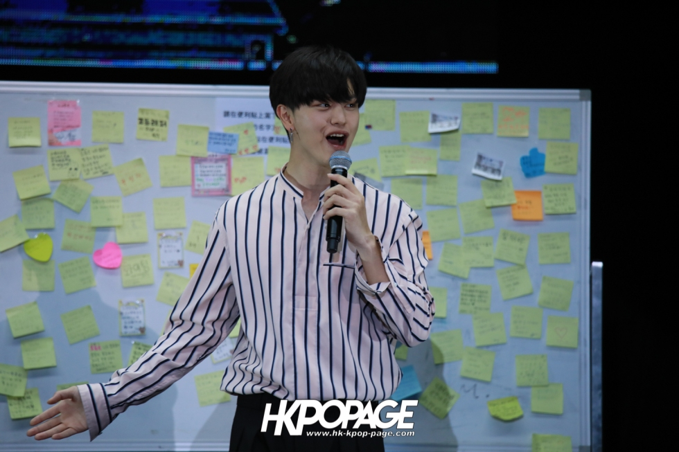 "[HK.KPOP.PAGE] 180519_Yook Sung Jae""Paradise""Fan Meeting in Hong Kong_19"
