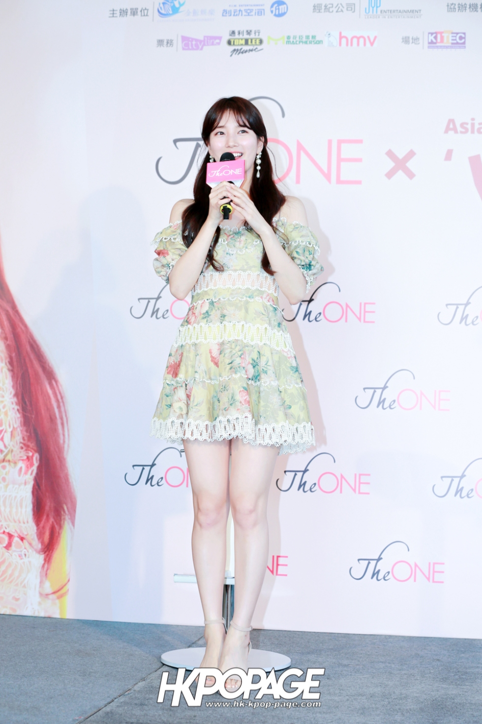 [HK.KPOP.PAGE] 180525_The ONE x 2018 SUZY Asia Fan Meeting Tour'WITH_in Hong Kong Press Conference_03