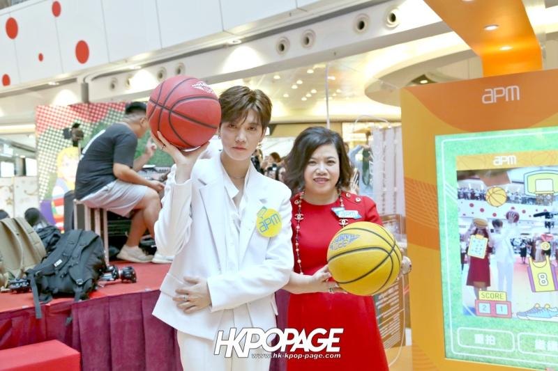[HK.KPOP.PAGE] 180722_Digital Sports Academy x REN@NU'EST W Autograph campaign_05