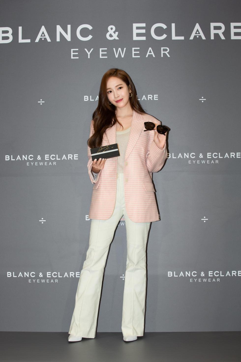 《Blanc _ Eclare Eyewear》活動現場品牌創意總監鄭秀妍Jessica_1