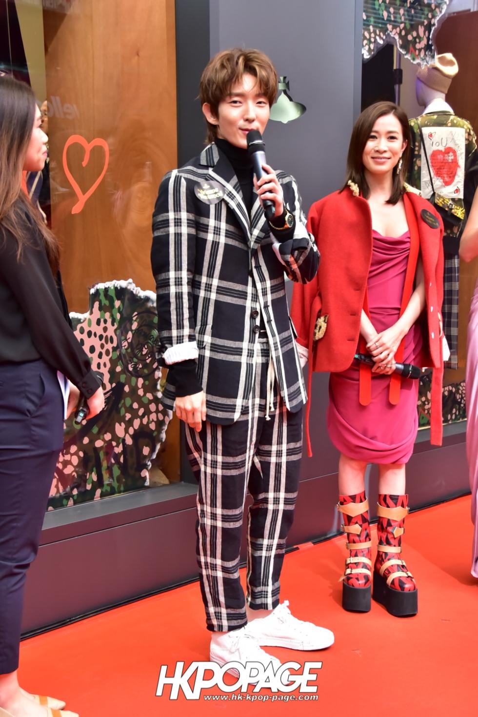 [HK.KPOP.PAGE] 181107_Lee Joon-gi_Vivienne Westwood Event in Hong Kong_04