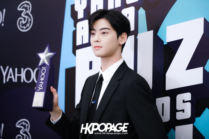 [HK.KPOP.PAGE] 181212_Cha Eun Woo_Yahoo Asia Buzz Awards 2018 presentation ceremony_-14