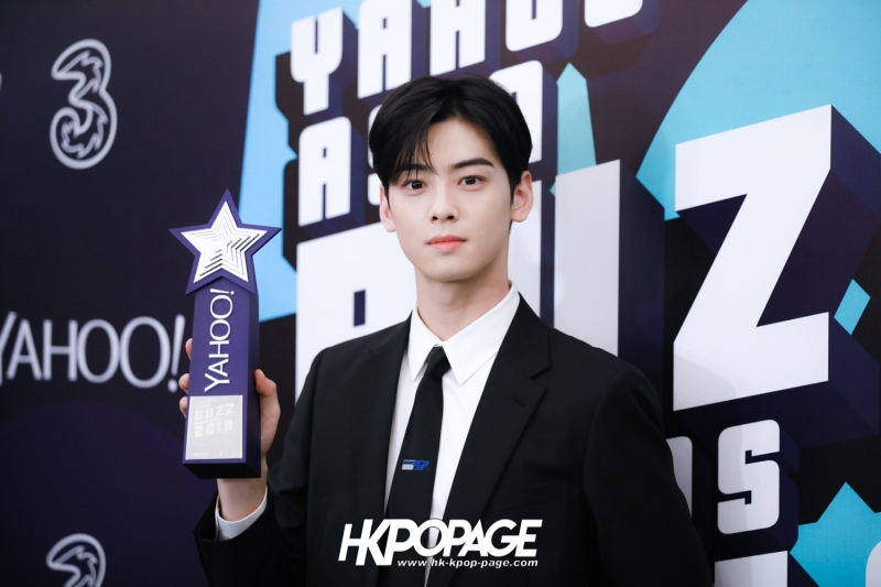 [HK.KPOP.PAGE] 181212_Cha Eun Woo_Yahoo Asia Buzz Awards 2018 presentation ceremony_-15