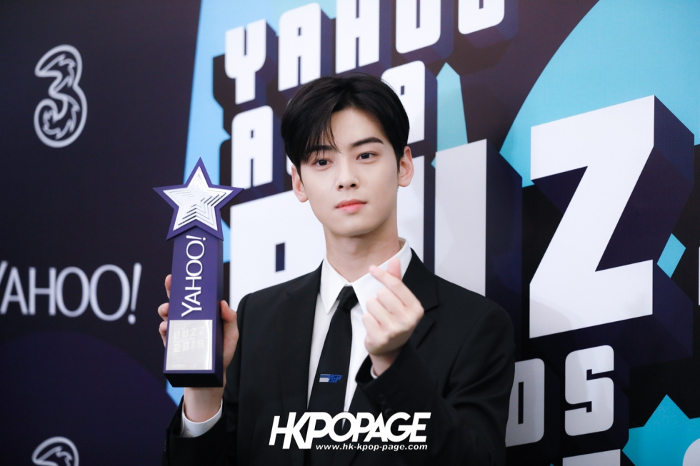 [HK.KPOP.PAGE] 181212_Cha Eun Woo_Yahoo Asia Buzz Awards 2018 presentation ceremony_-16