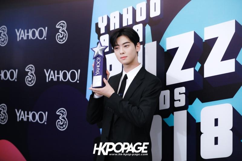 [HK.KPOP.PAGE] 181212_Cha Eun Woo_Yahoo Asia Buzz Awards 2018 presentation ceremony_-17