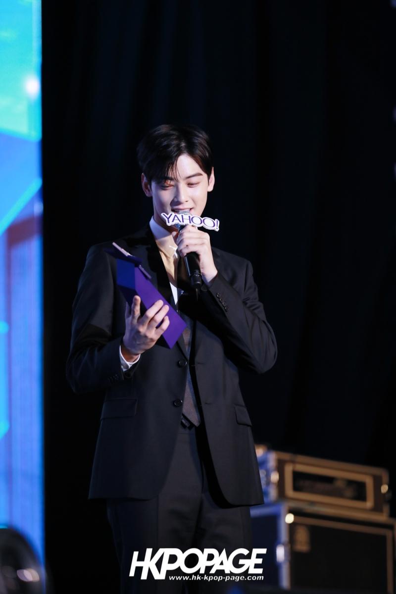 [HK.KPOP.PAGE] 181212_Cha Eun Woo_Yahoo Asia Buzz Awards 2018 presentation ceremony_-20