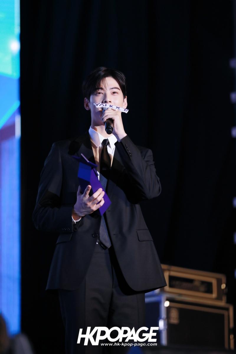 [HK.KPOP.PAGE] 181212_Cha Eun Woo_Yahoo Asia Buzz Awards 2018 presentation ceremony_-21
