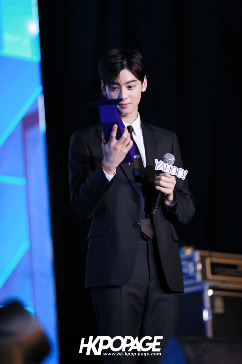 [HK.KPOP.PAGE] 181212_Cha Eun Woo_Yahoo Asia Buzz Awards 2018 presentation ceremony_-25