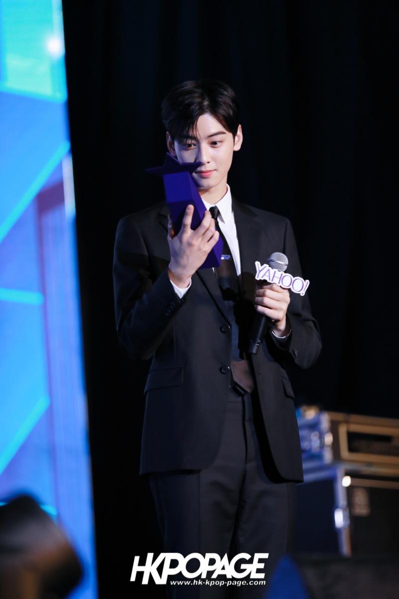 [HK.KPOP.PAGE] 181212_Cha Eun Woo_Yahoo Asia Buzz Awards 2018 presentation ceremony_-25