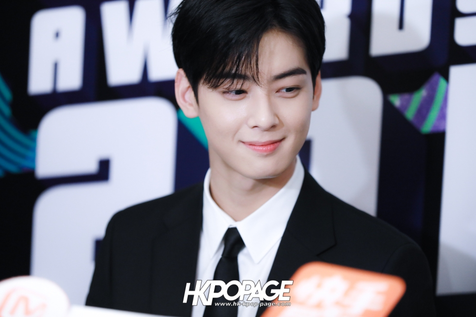 [HK.KPOP.PAGE] 181212_Cha Eun Woo_Yahoo Asia Buzz Awards 2018 presentation ceremony_-4