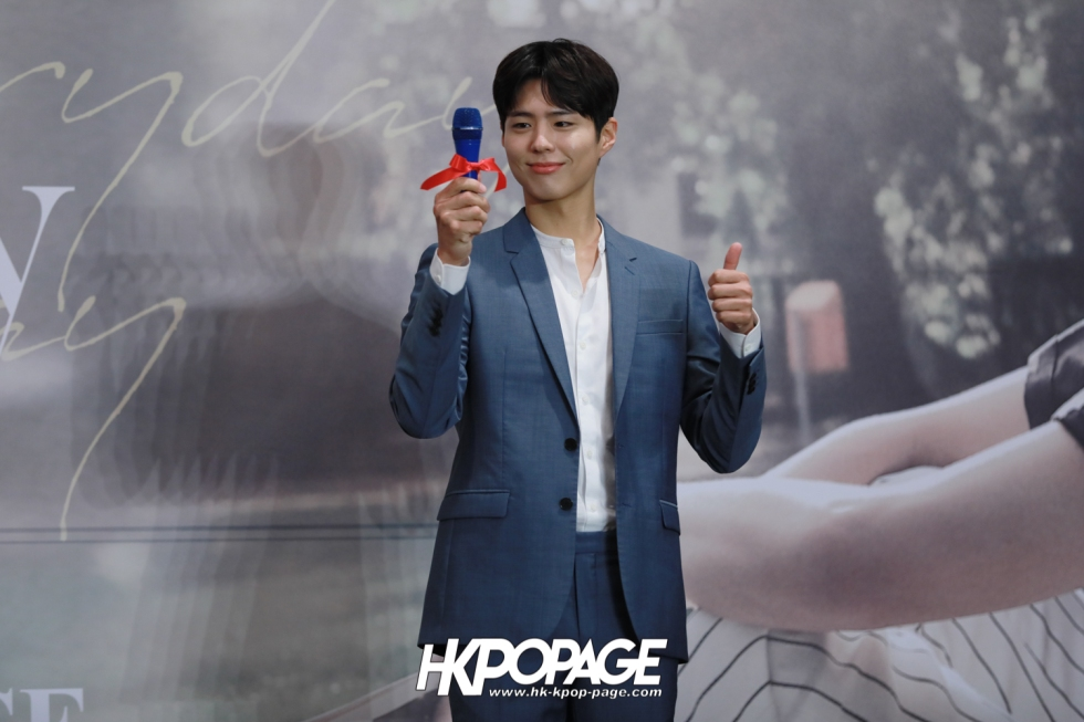 [HK.KPOP.PAGE] 190315_Park Bo Gum Asia Tour In HongKong -Good Day- May your everyday be a good day- Press conference-10