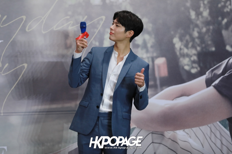 [HK.KPOP.PAGE] 190315_Park Bo Gum Asia Tour In HongKong -Good Day- May your everyday be a good day- Press conference-11