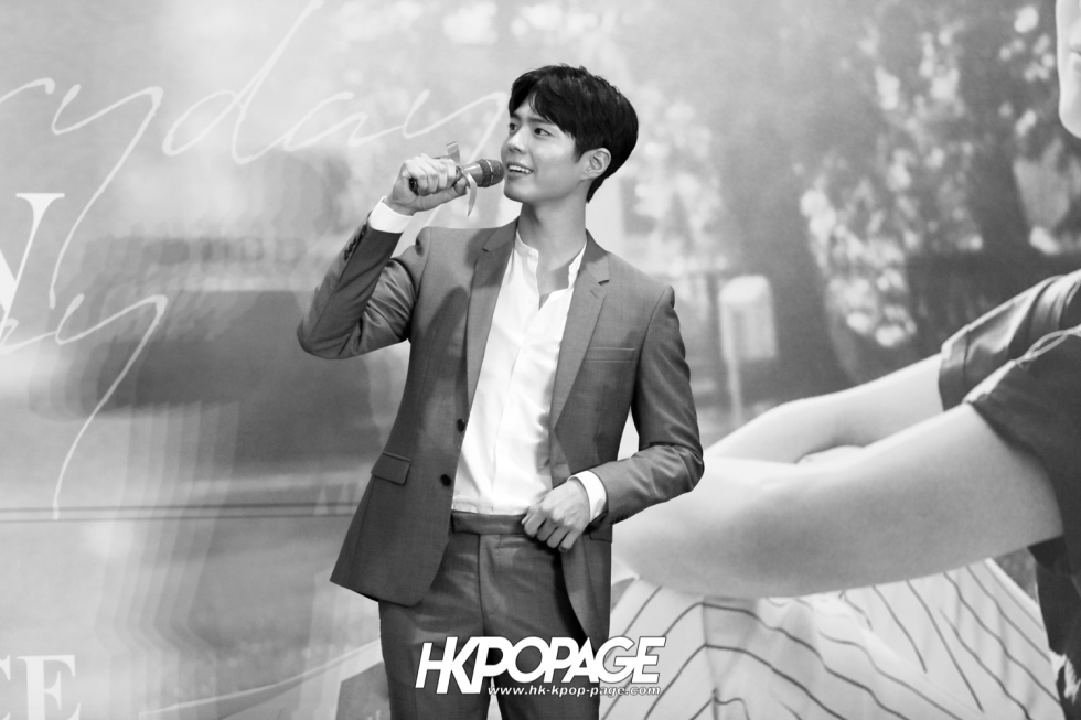 [HK.KPOP.PAGE] 190315_Park Bo Gum Asia Tour In HongKong -Good Day- May your everyday be a good day- Press conference-14