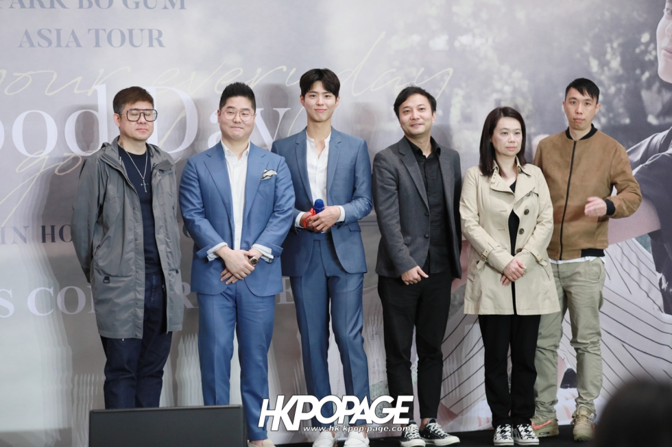 [HK.KPOP.PAGE] 190315_Park Bo Gum Asia Tour In HongKong -Good Day- May your everyday be a good day- Press conference-28