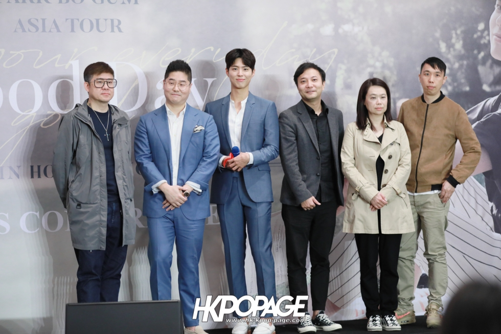 [HK.KPOP.PAGE] 190315_Park Bo Gum Asia Tour In HongKong -Good Day- May your everyday be a good day- Press conference-29