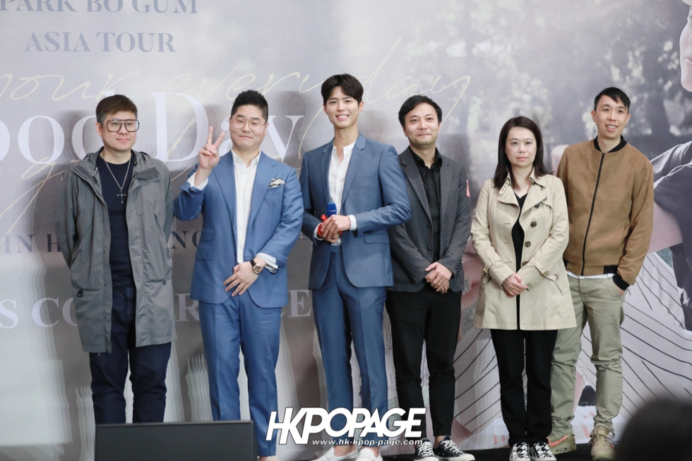 [HK.KPOP.PAGE] 190315_Park Bo Gum Asia Tour In HongKong -Good Day- May your everyday be a good day- Press conference-30