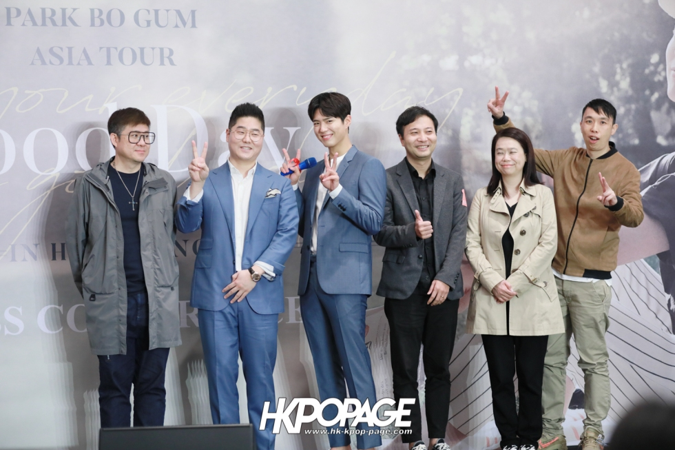 [HK.KPOP.PAGE] 190315_Park Bo Gum Asia Tour In HongKong -Good Day- May your everyday be a good day- Press conference-33