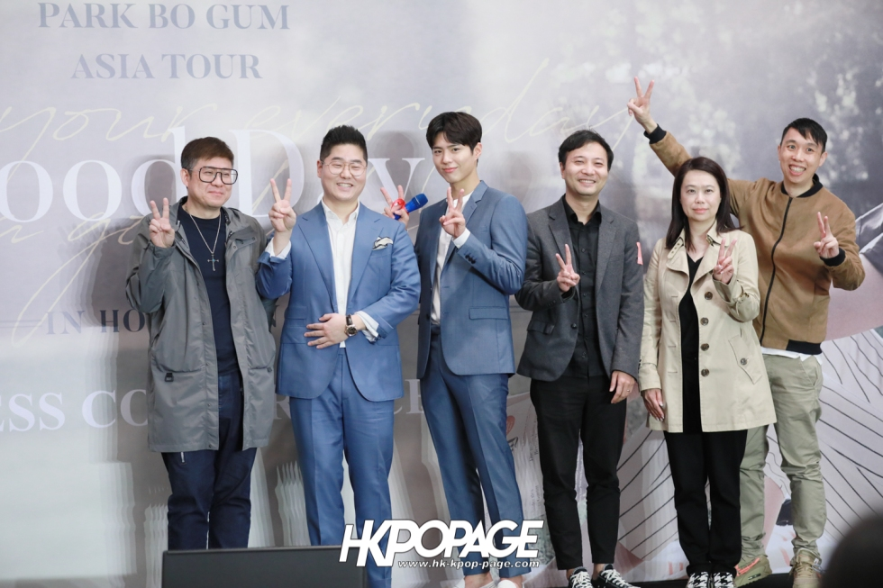 [HK.KPOP.PAGE] 190315_Park Bo Gum Asia Tour In HongKong -Good Day- May your everyday be a good day- Press conference-34